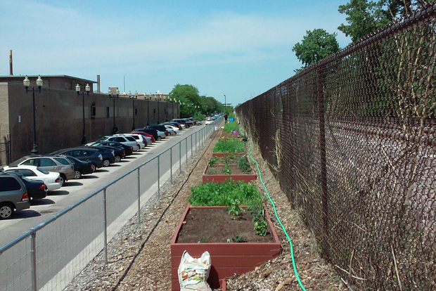 call for donations from montrose metra community gardens