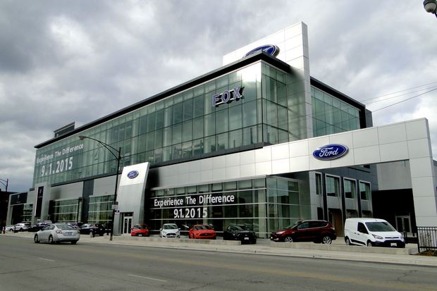 57 million ford dealer ready to roll along bucktown lincoln park border bucktown chicago
