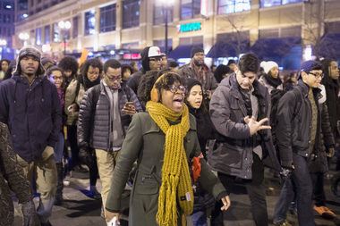 Chicago Protests After Laquan McDonald Shooting Video Released (PHOTOS)