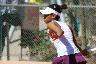 Meet Notre Dame's First African-American Women's Scholarship Tennis Player