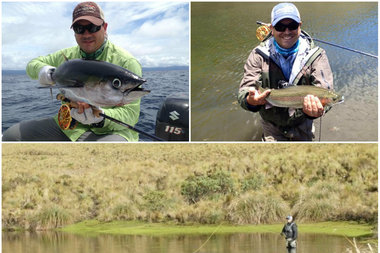 A fly fisherman catches lunkers from chicago to the world for Chicago fly fishing