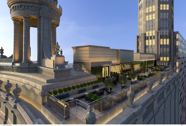 Londonhouse 39 s three level rooftop bar could be chicago 39 s for Terrace hotel london