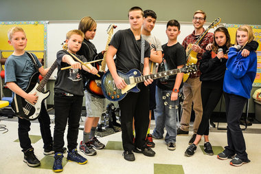 Meet The Chicago Public School Band Rocking The Beatles ...