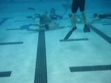 No Ice, No Skates Required for Underwater Hockey Players
