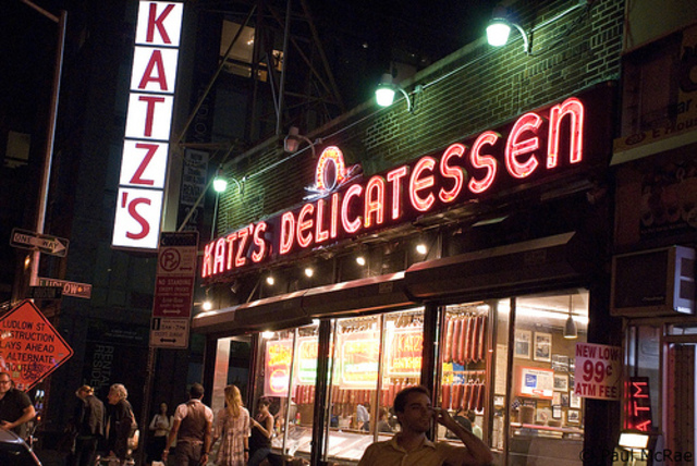 <p>Katz&#39;s Deli, open 365 days a year, has been a fixture on the Lower East Side since 1888.</p>