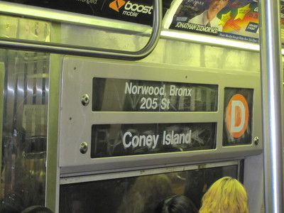 <p>Service between Manhattan and Brooklyn was restored on 2, 3 and D trains, Nov. 4, 2012.</p>