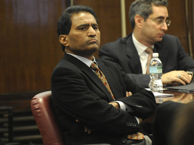 <p>V. Reddy Kancharla was convicted of corruption for his role in faking concrete test results at his firm Testwell Laboratories. Kancharla was also the head of Site Safety LLC, which worked on the Atlantic Yards project.</p>