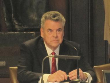 Rep. Peter King testified that he believed the Obama administration planned on moving the trials out of New York.