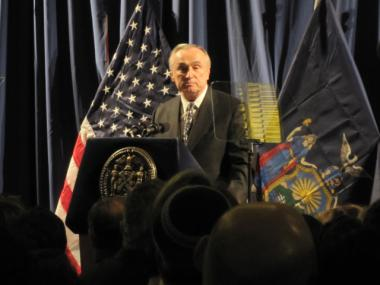 Former NYPD Commissioner William Bratton.