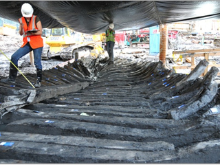 Second Piece of Historic Ship Discovered at WTC Site