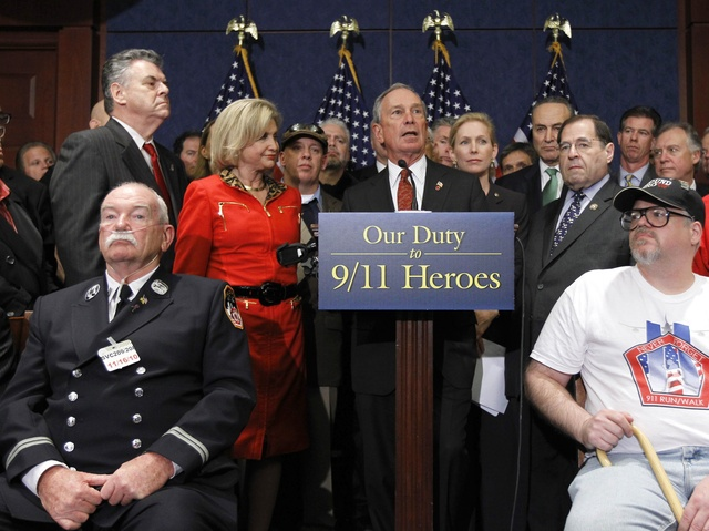 <p>Mayor Michael Bloomberg and a New York delegation in DC.</p>