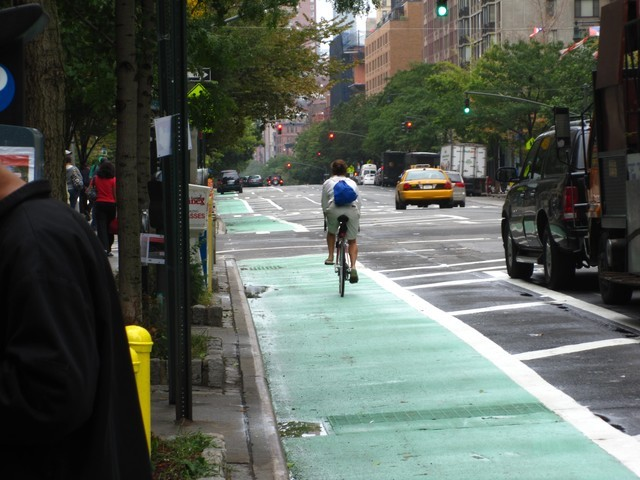 <p>Cyclists told Community Board 7 Tuesday night that new bike lanes on Columbus Avenue would lead to safer streets for everyone, not just bike riders.</p>