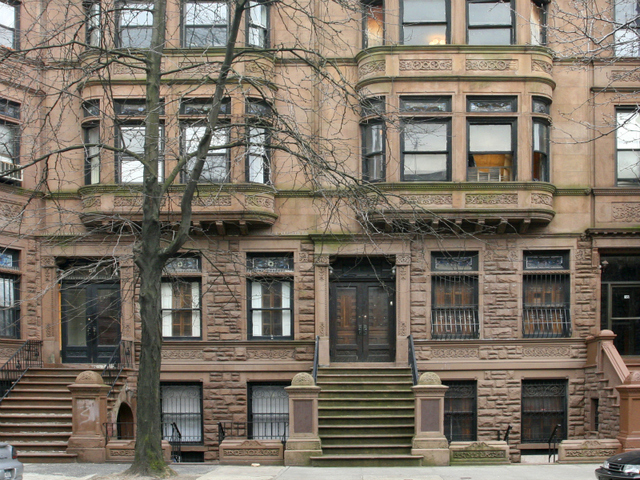 This building on 123rd Street is one of the many grand homes that have attracted stars to the Mt. Morris Park Historic District.
