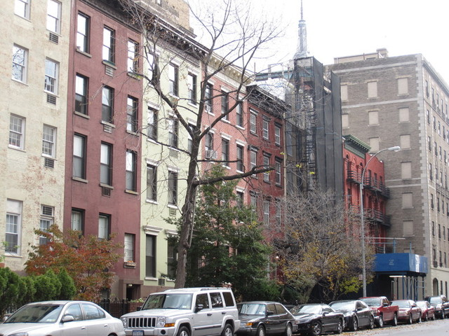 <p>The row houses of the Lamartine Place Historic District, landmarked in February due to their connection with several abolitionist families and the Underground Railroad.</p>