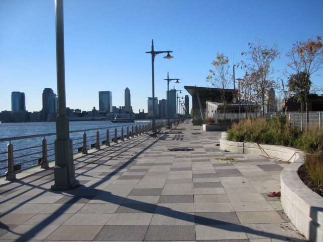 <p>The rebuilt Pier 25 opened in 2010.</p>