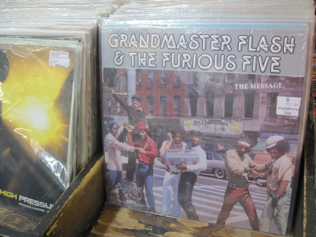 Classic records starting at $8, are sold at Bleecker Bob's Golden Oldies.