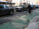 City Celebrates Improved Bike Lane Safety, but Critics Not Convinced