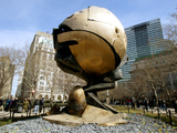World Trade Center Sphere Leaving Battery Park By End of April