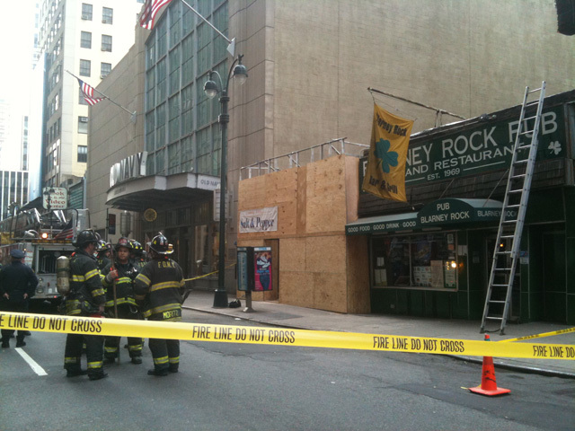 The Blarney Rock Pub was evacuated after the building reportedly shook on March 30, 2011.