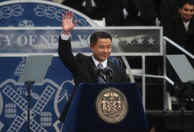 A man who reportedly is a fundraiser for comptroller John Liu was arrested for campaign fraud on Nov. 16, 2011.