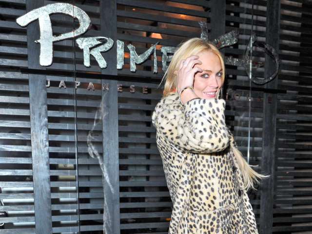 <p>Lindsay Lohan was allegedly choked in a W Hotel stairwell by a man who had taken pictures of her partying on Sept. 30, 2012.</p>
