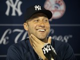 Jeter and Babe Ruth Tie as City's Favorite Yankee
