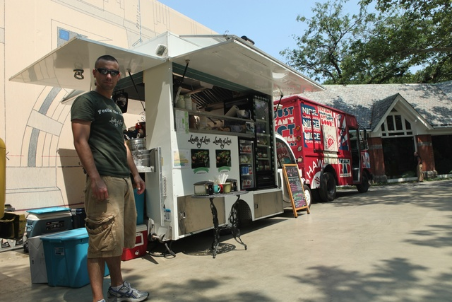 The food trucks outside Tavern on the Green will be leaving next month.