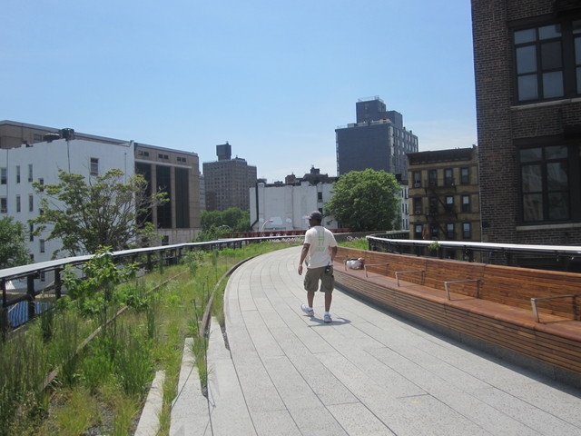 <p>The second phase of the High Line.</p>