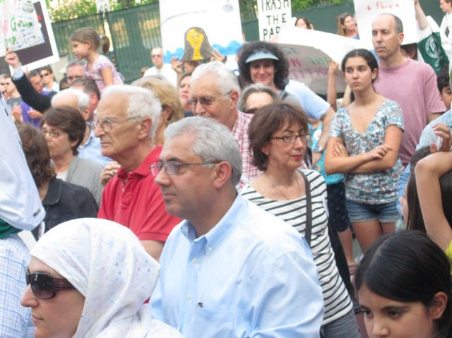 <p>Residents rallied in June against the East 91st Street waste transfer station they fear will stink up the popular Asphalt Green recreation center.</p>