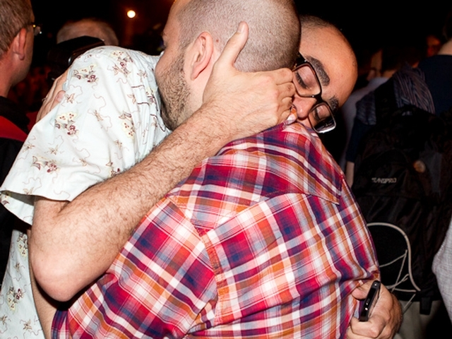 There was jubilation after the gay marriage bill passed on June 24, 2011.