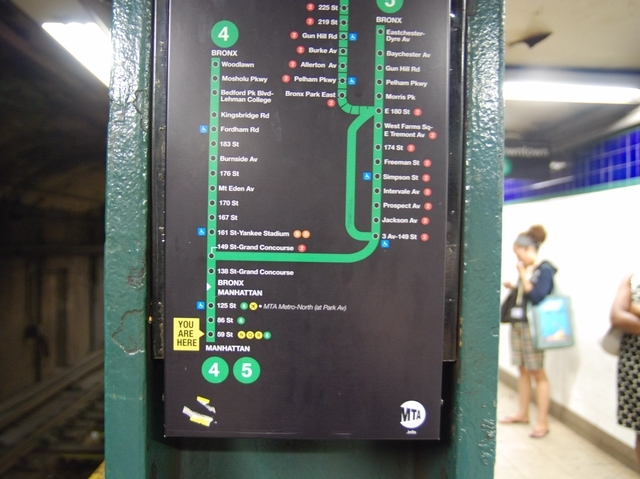 The maps are also being tested on the 4/5 line.