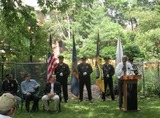 Community Garden Honors Hero Port Authority Cop Killed on 9/11