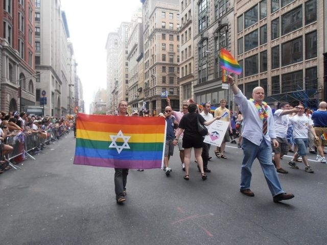 Pride, the gay marriage bill, and the congregation's newly purchased space were all reasons for celebration on Gay Pride Weekend.