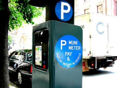 The city is considering privatizing parking meters to reduce costs long-term.