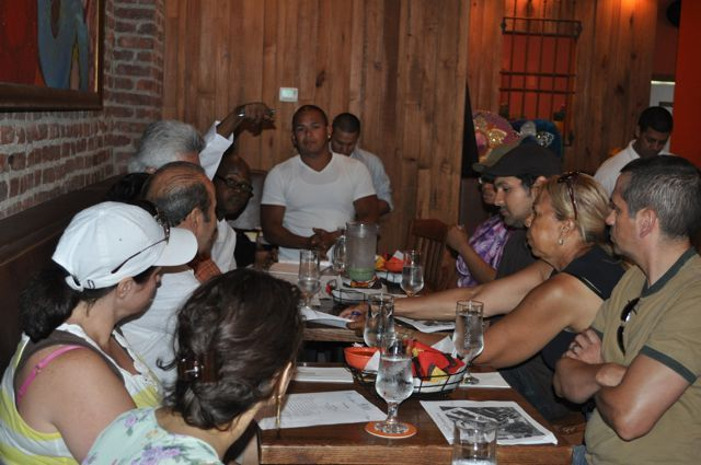 Chino Chavez, owner of Papasito Mexican Grill and Agave Bar on Dyckman Street, said he is willing to work with residents to make Dyckman Street safer, cleaner and less noisy.
