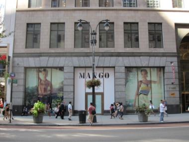 Mango is expected to open its doors on West 34th Street this fall.