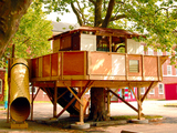 A Treehouse Grows on Governors Island