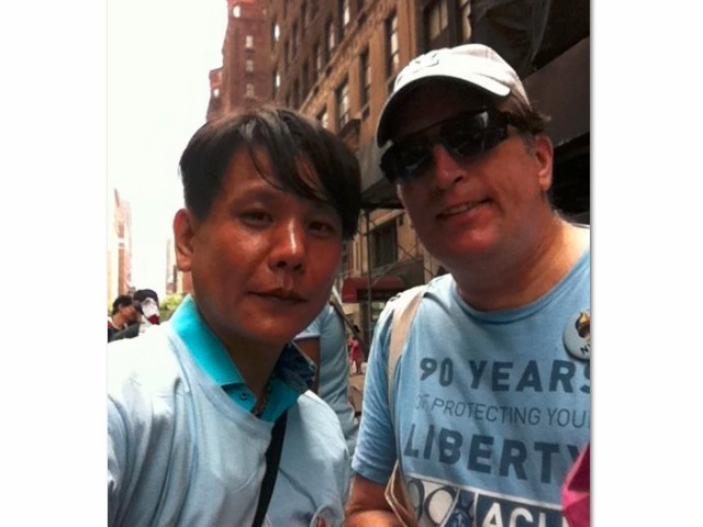 Patrick Plain and Seongman Hong, will be getting married in Manhattan Sunday.