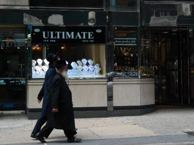 Many of the businesses in the District are run by Orthodox Jews.