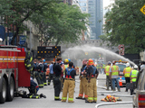 Underground Electrical Fire Shuts Down Block, Snarls Traffic