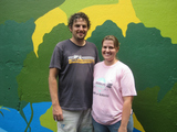 Church Group Paints Mural at Inwood Academy for Leadership