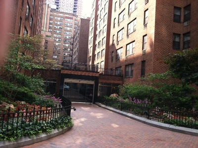 The Tudor City building where Marilyn Dershowitz lived.