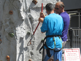 Summer Streets Brings Zip Lines and Climbing Walls to Closed Roadways