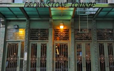 The Brownstone Lounge at 2641 Frederick Douglass Boulevard.