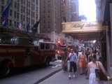 Fire at Waldorf-Astoria Injures Three Workers
