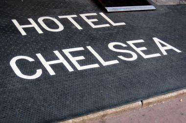 The Hotel Chelsea is no longer accepting guests.