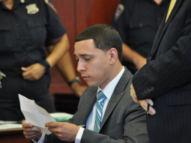 Franklin Mata apologized for his actions and asked for leniency at his sentencing Wednesday.