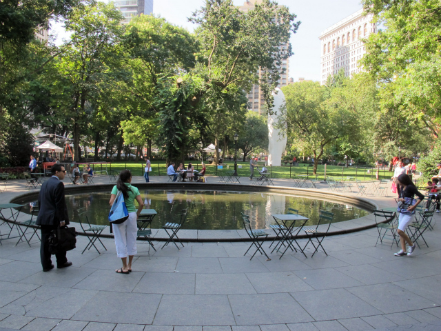 <p>Madison Square Park is home to several of the more than 1,200 monuments that are part of the city&#39;s collection.</p>