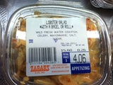 Claws Out Over Zabar's Mislabeled Lobster Salad