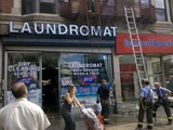 Second-Alarm Fire Breaks Out in Broadway Laundromat